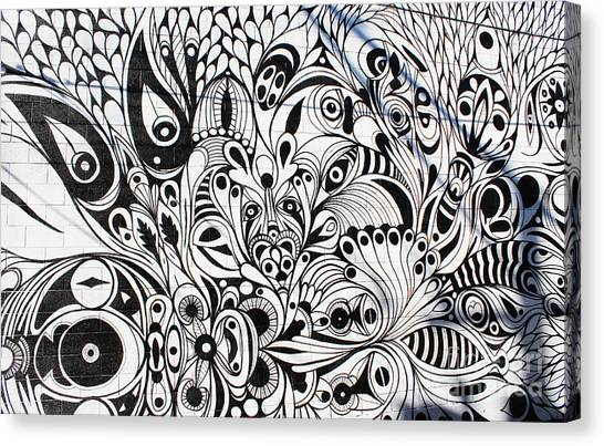 How Many Eyes Canvas Print
