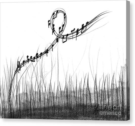 How Sweet The Sound Canvas Print