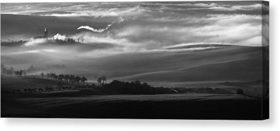Panorama Canvas Print - How The Mists Arise by