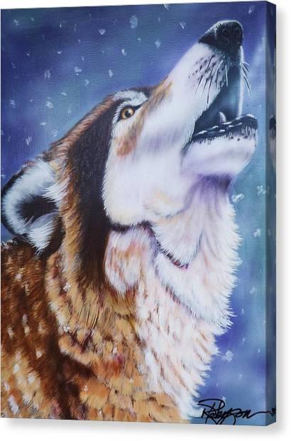 Howler Canvas Print