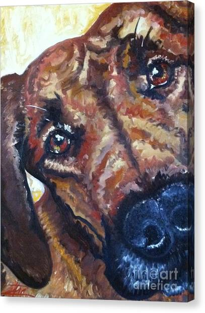 Howler Two Canvas Print