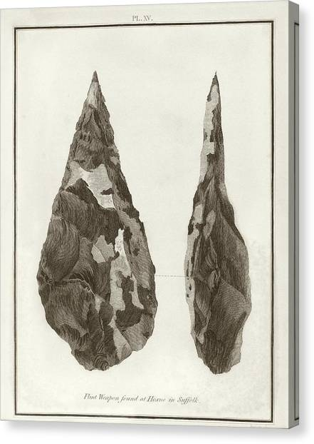The British Museum Canvas Print - Hoxne Handaxe by Middle Temple Library