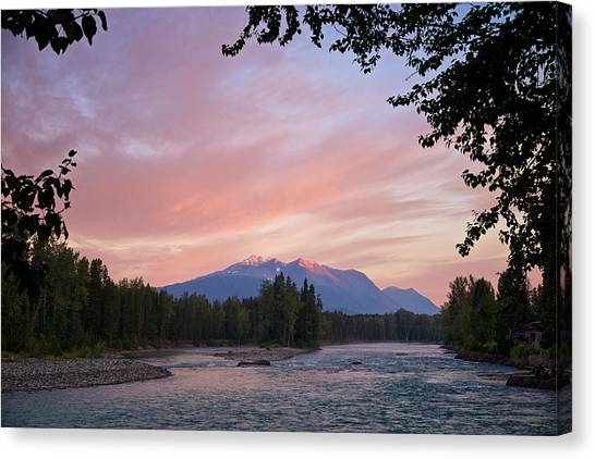 Hudson Bay Mountain British Columbia Canvas Print