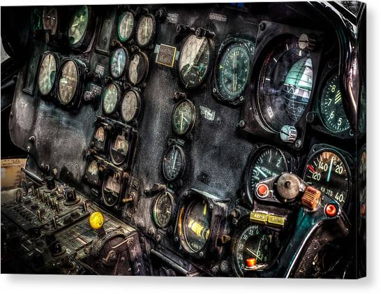 Huey Instrument Panel 2 Canvas Print