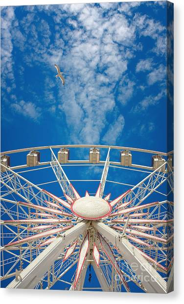 Huge Ferris Wheel Canvas Print