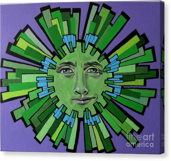 Hugh Grant - Sun Canvas Print