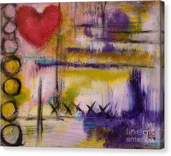 Hugs And Kisses Canvas Print