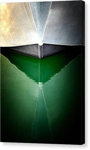 Hull Abstract 3 Canvas Print