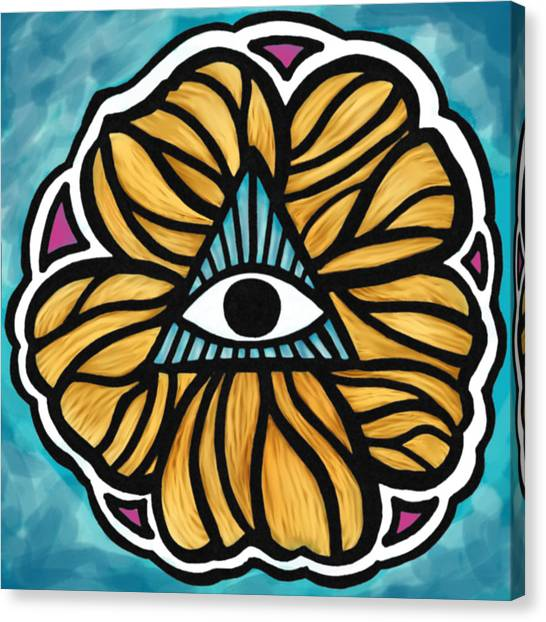 Symbolism Canvas Print - Humanities Eye by Andrea Stephenson