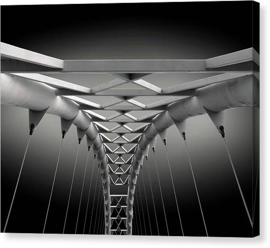 Modern Architecture Canvas Print - Humber Bridge by Ivan Huang
