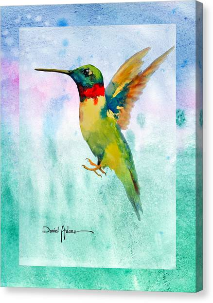 Da202 Hummer Dreams Revisited By Daniel Adams Canvas Print