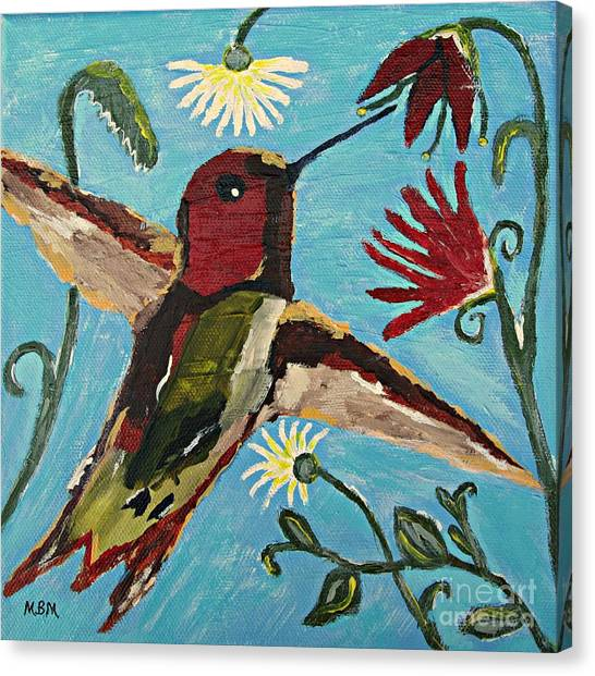 Hummingbird No. 2 Canvas Print
