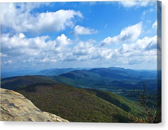 Humpback Rocks View North Canvas Print