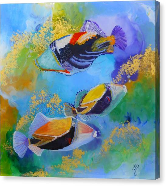Humuhumu Canvas Print