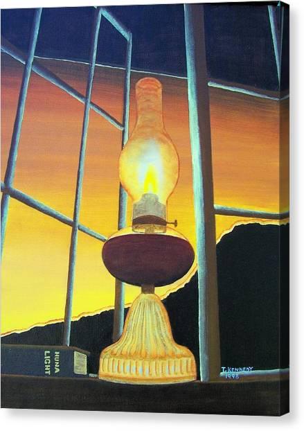 Huna Light Canvas Print