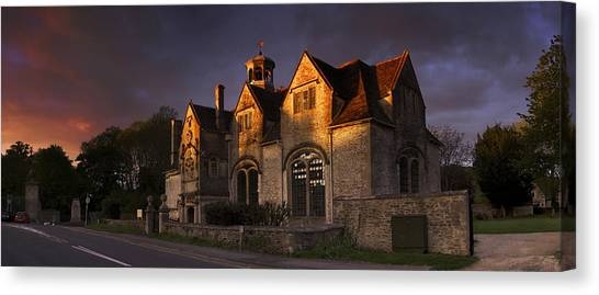 Hungerford Almshouses Canvas Print