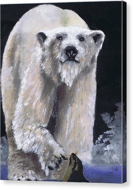 Hungry Hunter Canvas Print