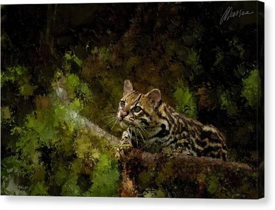 Hunter Canvas Print by Marina Likholat