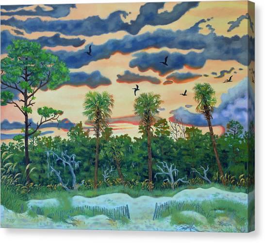 Hunting Island - 2 Canvas Print