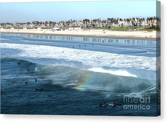 Huntington Beach - 15 Canvas Print