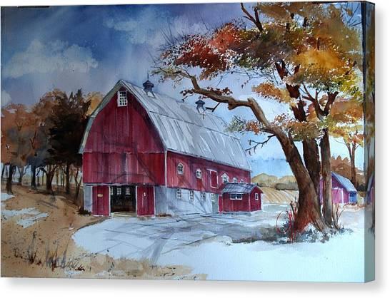 Huntley Farm Canvas Print