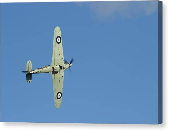 Hurricane In Action Canvas Print by Donald Turner