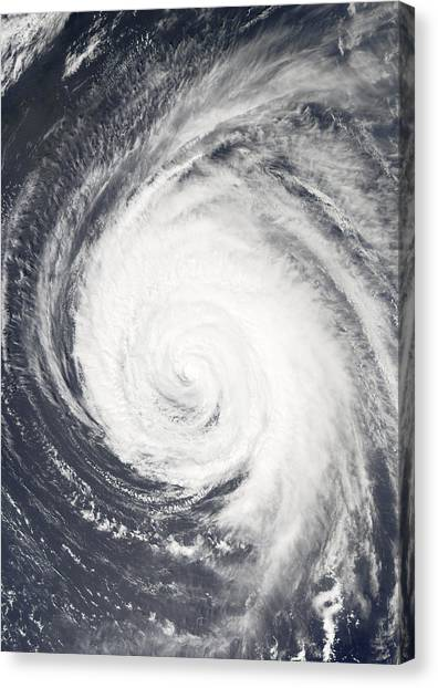 Cyclones Canvas Print - Hurricane by Unknown