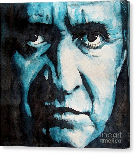 Johnny Cash Canvas Print - Hurt by Paul Lovering