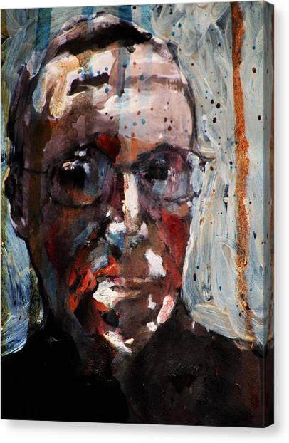 Husdant Portrait Canvas Print