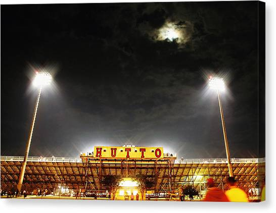 Hutto Hippo Stadium Canvas Print