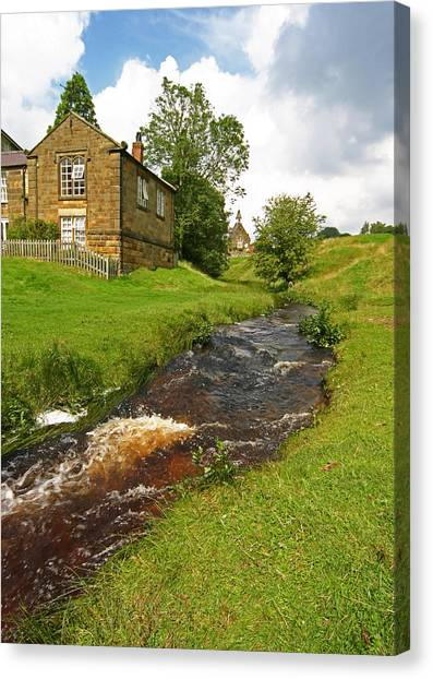 Hutton Beck 2 Canvas Print