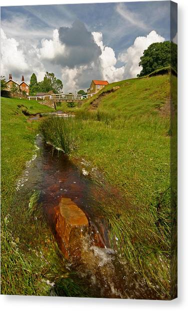 Hutton Beck  Canvas Print