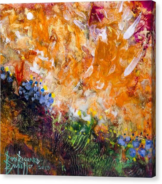 Huzzah Canvas Print
