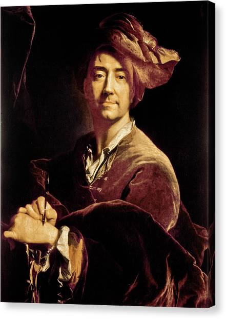 Carousel Collection Canvas Print - Hyacinthe Rigaud (1649-1743) by Granger