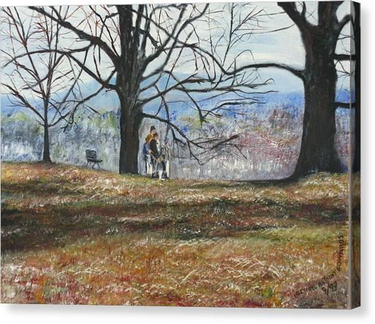 Hyde Park Ny Canvas Print