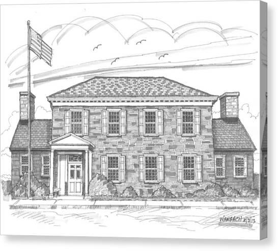 Hyde Park Post Office Canvas Print