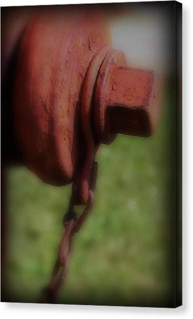 Hydrant Canvas Print