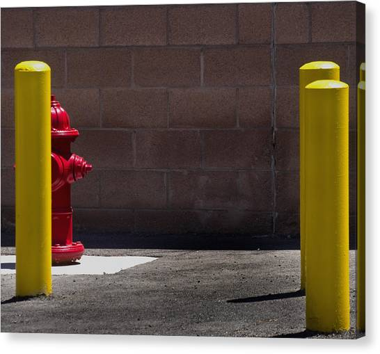 Hydrant Canvas Print by Kevin Duke