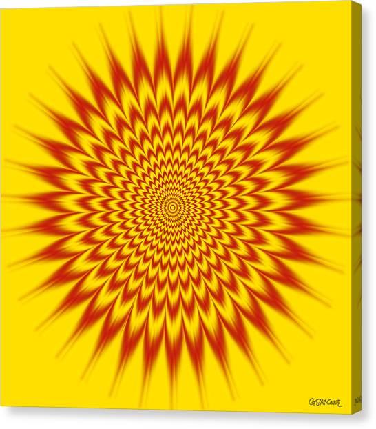 Hypnotic Vibes Canvas Print