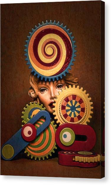 Hypnotic Woman 1 Canvas Print