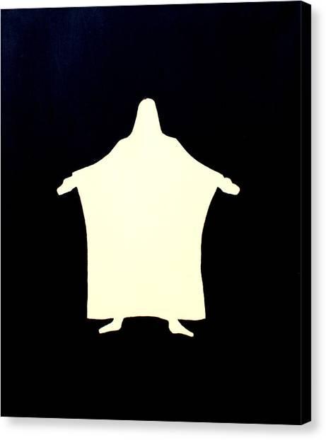 I Am The Door  Canvas Print by Sandra Yegiazaryan