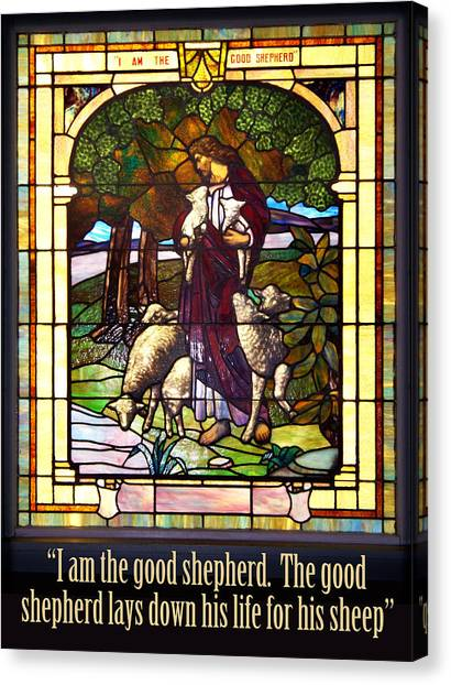 I Am The Good Shepherd Canvas Print