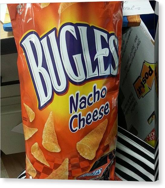 Teachers Canvas Print - I Bought These #bugles As Part Of Our by Justme MsB