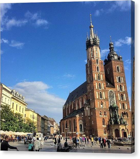 Japanese Canvas Print - I Came Back To #krakow Again After by Ryoji Japan