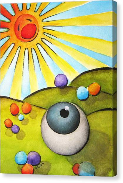 I Can See Clearly Now Canvas Print