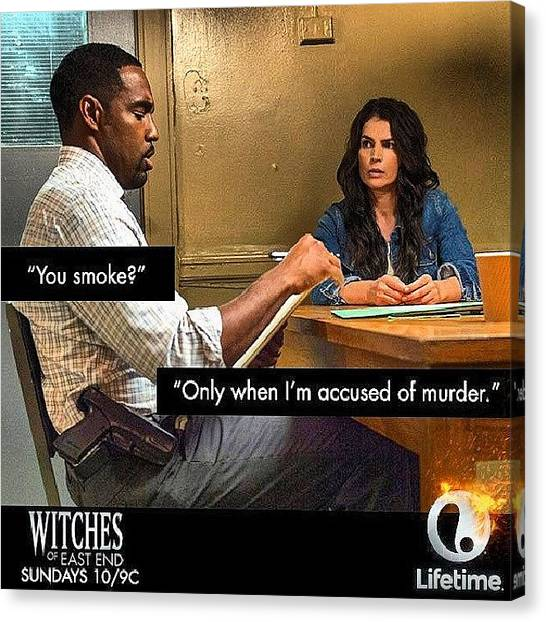 Witches Canvas Print - I Can't Wait #witches #highlife by Brandon Fisher