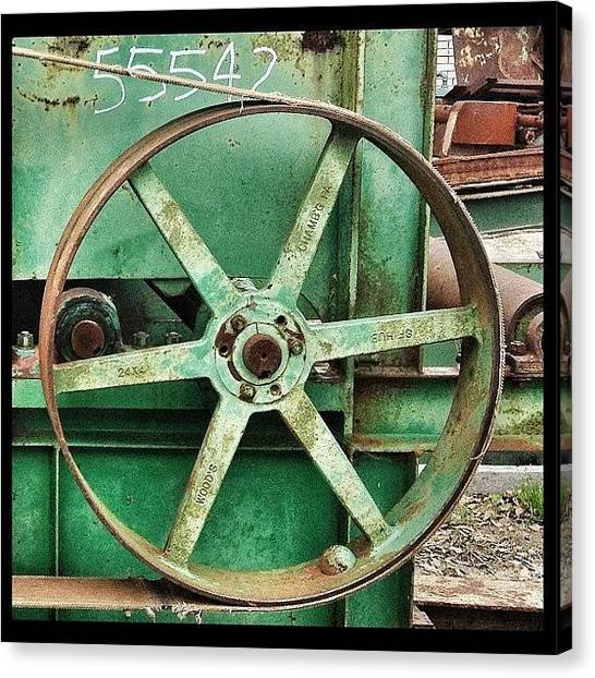 Machinery Canvas Print - I Have No Idea What This Is, But I Like by Deana Graham