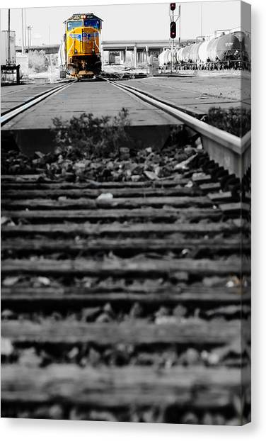 I Hear The Whistle Blowing Canvas Print