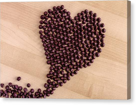 I Heart Chocolate Canvas Print