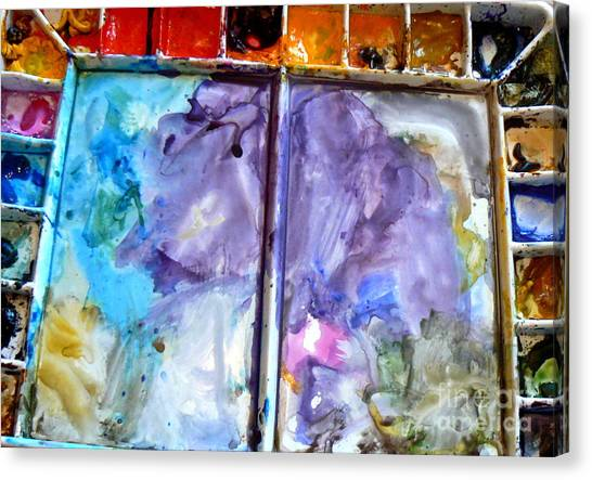 Joni Mitchell Canvas Print - To Live In A Box Of Paints.. by France  Art